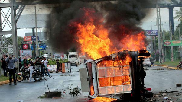 U.S. warns of regional crisis if Nicaragua unrest goes on