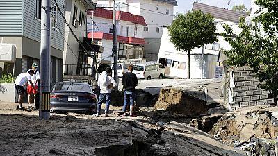 One killed, 32 missing after quake paralyses Japan's Hokkaido island