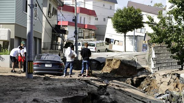 One killed, 32 missing after quake paralyses Japan's Hokkaido island