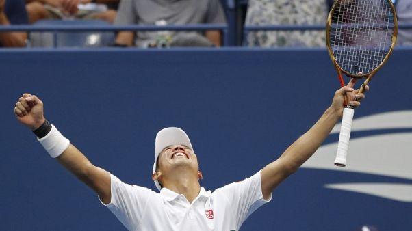 نيشيكوري يثأر من شيليتش في بطولة امريكا المفتوحة