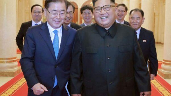 Corée du Nord: Trump salue l'engagement renouvelé de Kim sur la dénucléarisation