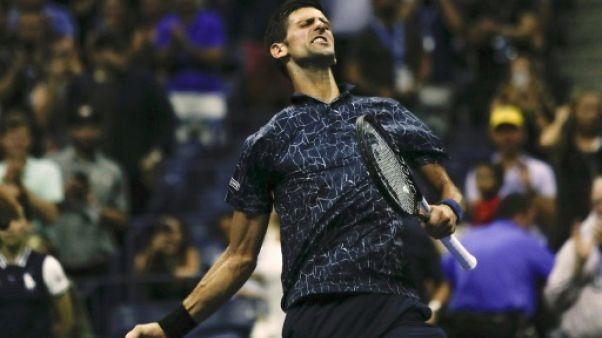 US Open: Djokovic surmonte l'humidité, le Japon à la fête