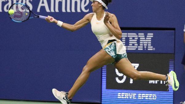 Tennis: Us Open, la Keys è in semifinale