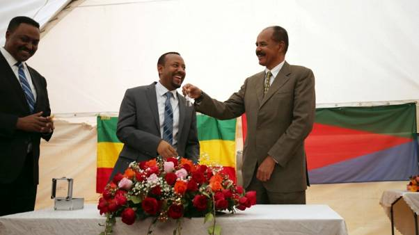 إثيوبيا تعيد فتح سفارتها بإريتريا في إشارة جديدة لتحسن العلاقات