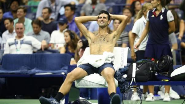 """Djokovic: le tournoi doit """"s'occuper"""" du manque d'air sur les courts"""