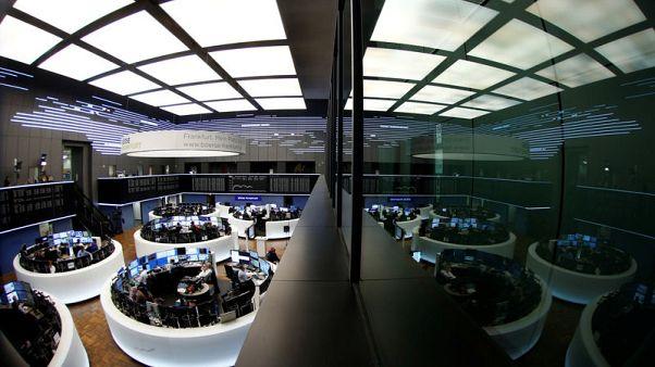 European shares hit five-month low as tariff woes loom