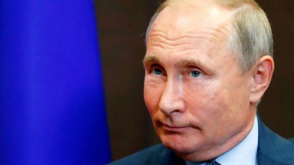 Le président russe Vladimir Poutine à Sotchi, le 22 août 2018