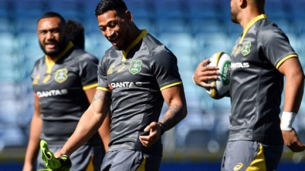 Rugby Championship: Foley sur le banc, retour de Folau