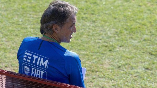Azzurri: Mancini verso 4-3-3 con Polonia