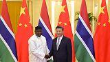 Gambia president tells China previous Taiwan ties a 'huge mistake'