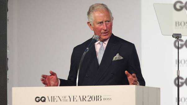 تكريم الأمير تشارلز والممثلة روز مجاون في حفل جوائز جي.كيو في لندن