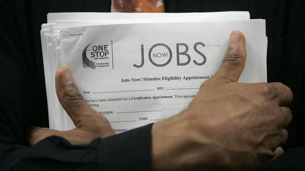 U.S. weekly jobless claims fall to near 49-year low