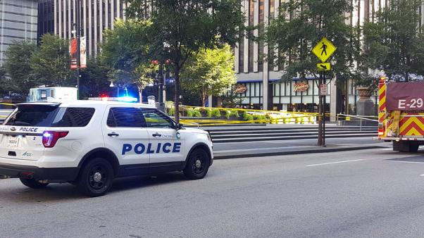 Gunman slays three at Cincinnati bank before police kill him