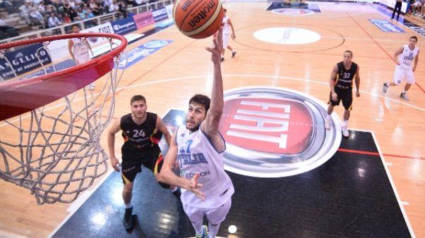 basket: Italia, domani test Vtg Supercup