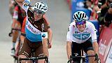 Tour d'Espagne: Geniez vainqueur de la 12e étape, Herrada surprenant leader