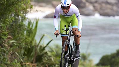Roglic leads Tour of Britain after time trial win