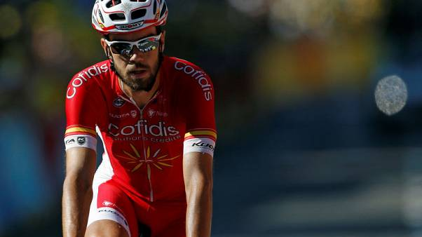 Herrada storms into Vuelta lead after stage 12