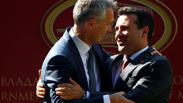 We are ready to welcome you, NATO's Stoltenberg tells Macedonia