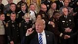 Le président américain Donald Trump le 5 septembre 2018 à la Maison Blanche