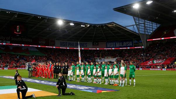 Giggs enjoys memorable homecoming as Wales thrash Ireland