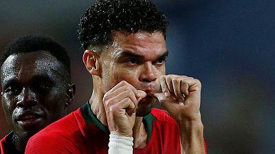 Pepe scores on 100th appearance as Portugal hold Croatia