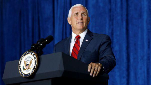 U.S. VP Pence pressures Paraguay over Jerusalem embassy move