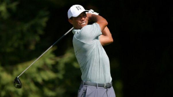 Golf: Woods fait son show au BMW Championship
