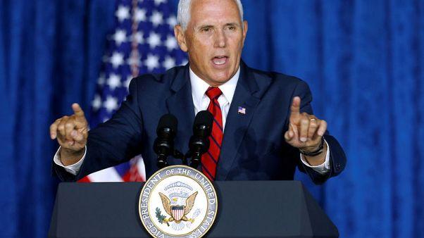 نائب الرئيس الأمريكي يضغط على باراجواي بشأن نقل السفارة من القدس