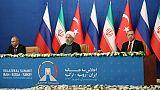 Syrie: constat de divergences entre Iran, Russie et Turquie sur Idleb