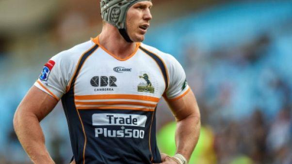 Rugby Championship: l'Australien Pocock toujours blessé au cou, absent contre les Springboks
