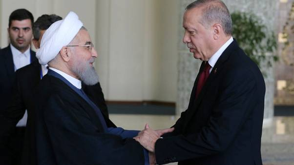 Iran, Russia, Turkey to decide fate of Syria's Idlib, air strikes hit rebel areas