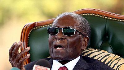 Zimbabwe's Mugabe says now accepts Mnangagwa as legitimate president