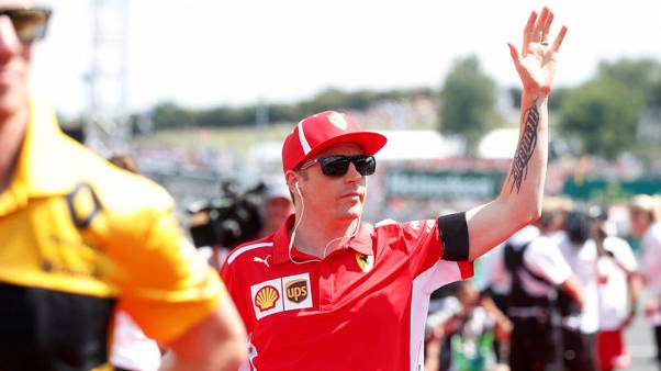Motor racing - Fans urge Ferrari to keep Raikkonen as decision awaited