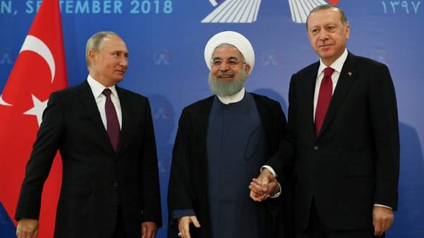 أردوغان يدعو الرئيسين الإيراني والروسي لدعم وقف إطلاق نار في إدلب السورية
