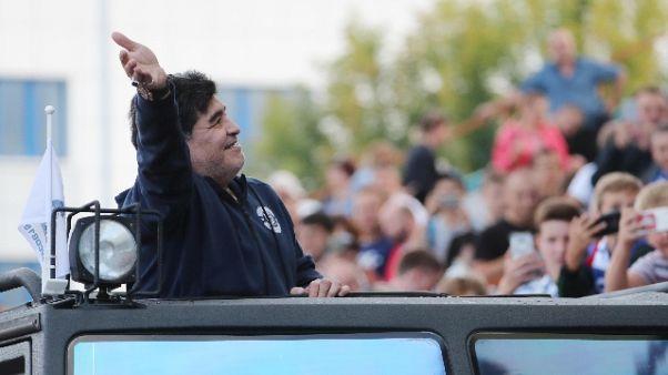 Maradona nuovo dt club messicano Dorados