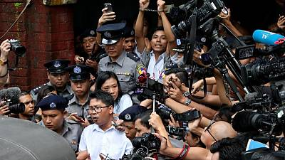 Myanmar says court in Reuters reporters' case was independent