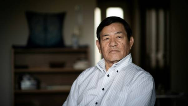 L'ancien gardien de prison Toshio Sakamoto à Tokyo, le 1er août 2018