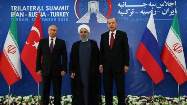 بيان قمة طهران: إيران وروسيا وتركيا تتفق على السعي لحل مشترك في إدلب