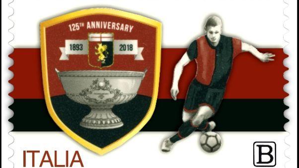 Francobollo Italia per i 125 anni Genoa