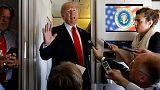 ترامب: الولايات المتحدة واليابان بدأتا مفاوضات بشأن التجارة