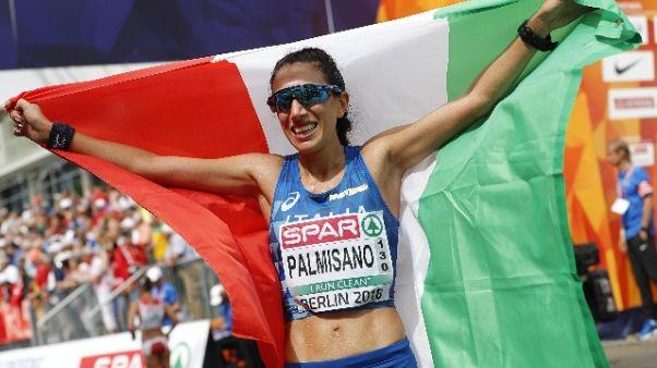 Atletica: Palmisano oro tricolore marcia