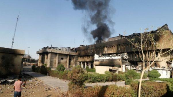 "Bagdad promet la ""sévérité"" à Bassora après l'incendie du consulat d'Iran"