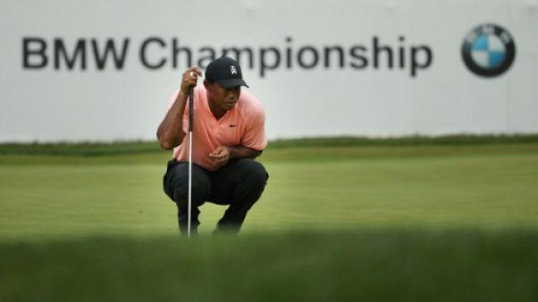Tiger Woods lors du BMW Championship le 7 septembre 2018 en Pennsylvanie