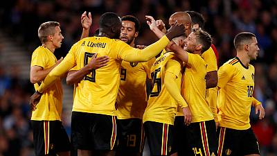 Classy Belgium thrash hapless Scotland 4-0 in friendly