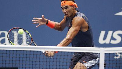 Holder Nadal retires from U.S. Open semi-final
