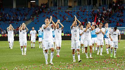 Russia edge Turkey 2-1 away in Nations League opener
