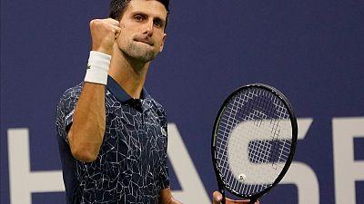 Djokovic eases past Nishikori to reach U.S. Open final