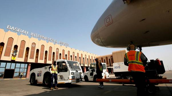 Basra airport targeted by rocket fire as violent protests grip Iraq
