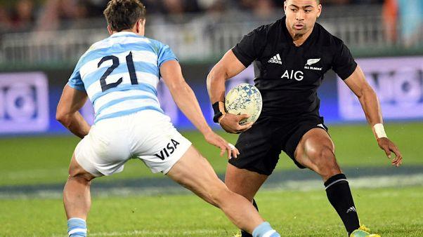 Perenara brace helps All Blacks overcome tough Pumas