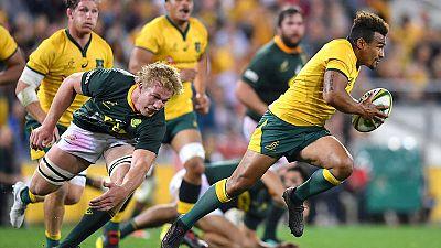 Australia hold on to beat Springboks and snap losing streak